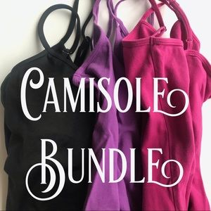 2 size S Caslon camisoles, 1 size M WHBM camisole.